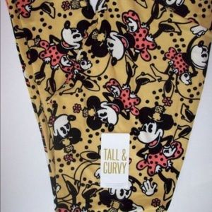 Lularoe Vintage Minnie Leggings